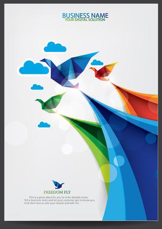 Brochure template design