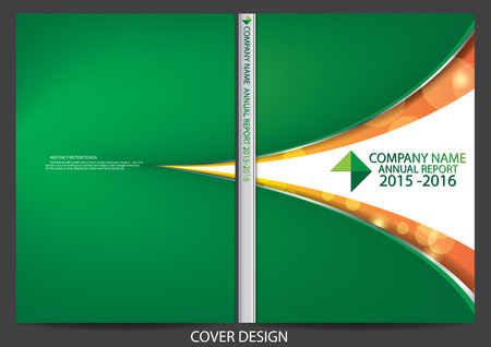 portadas: Diseño de la cubierta Informe anual