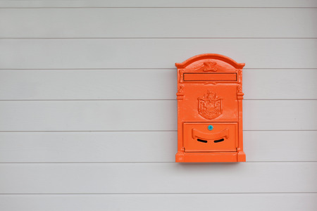 Post box on the wall