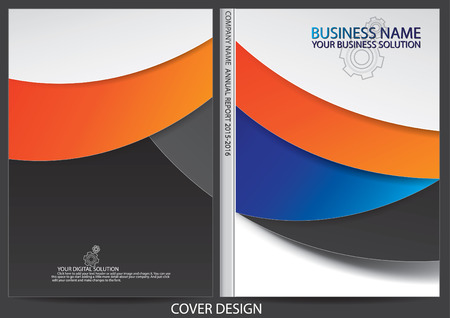 portadas de libros: Diseño de la cubierta Informe anual