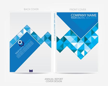 presentation template: Annual report cover design