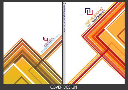 cover: Annual report cover design