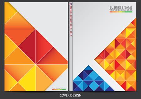 cover: Annual report Cover design Illustration
