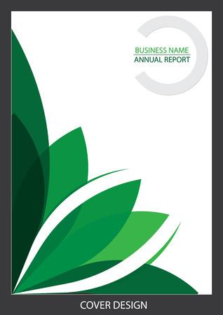 cover: Report Cover design Illustration