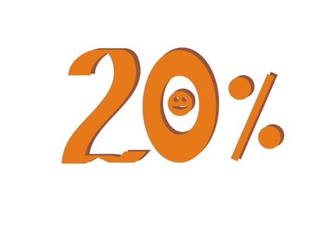cent: Twenty percent