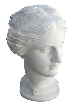 Marble head of the Aphrodite photo