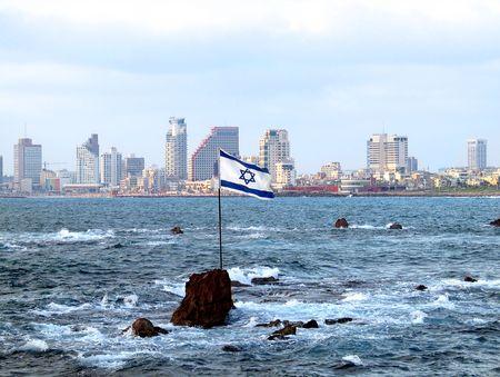 Panorama of Tel Aviv from Jaffa photo
