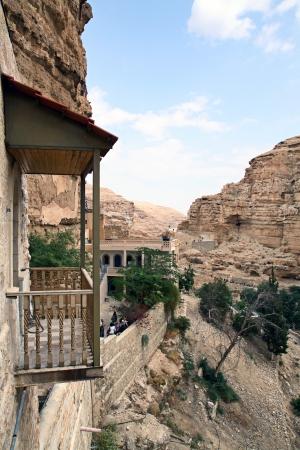 judaic: Greek Orthodox Monastery of St. George in the Judaic desert