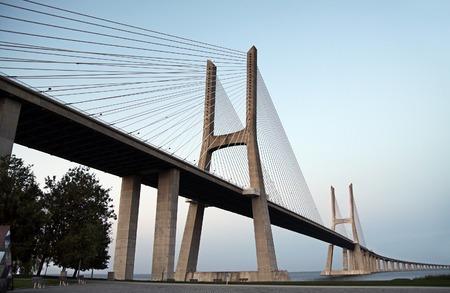 longest: Vasco da Gama Bridge. It is the longest bridge in Europe.