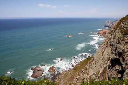 Cabo da Roca - the westernmost point of the Eurasian continent photo