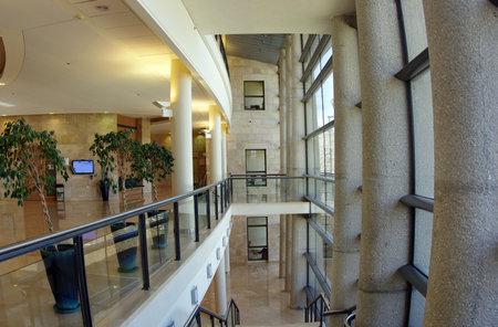 knesset: JERUSALEM, ISRAEL - JULY 06, 2014: Interior of the Knesset, Jerusalem
