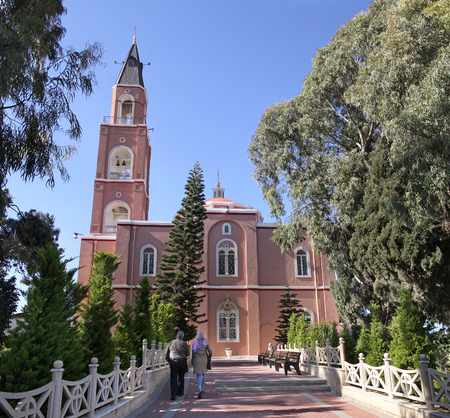 the righteous: The church of Apostle Peter and righteous Tavifa, Jaffa, Israel