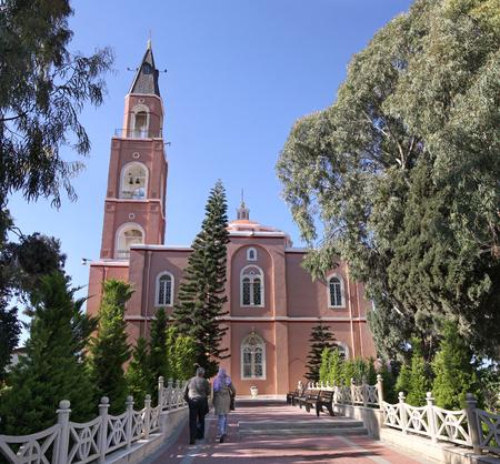 apostle: The church of Apostle Peter and righteous Tavifa, Jaffa, Israel