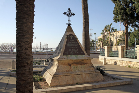 haifa: Tomb of Napoleons soldiers who died during the storming of Haifa in 1779