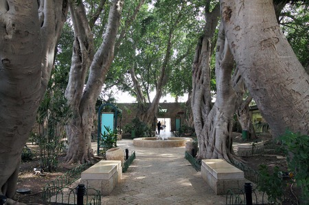 acre: ACRE, ISRAEL - MARCH 02, 2016: Square in the city of the Crusaders in Acre