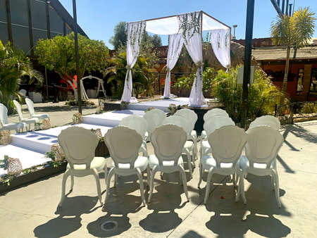 Hupa - a traditional place for holding a wedding ceremony according to Jewish tradition