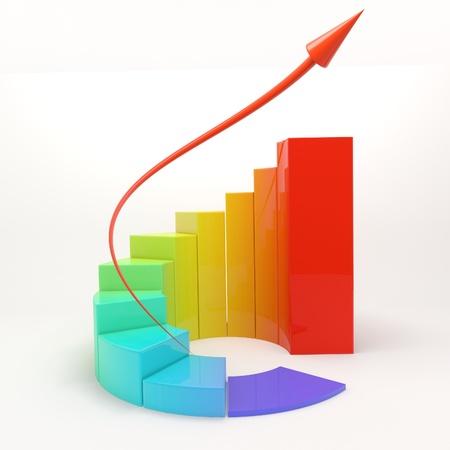 chart schedule finance success money photo