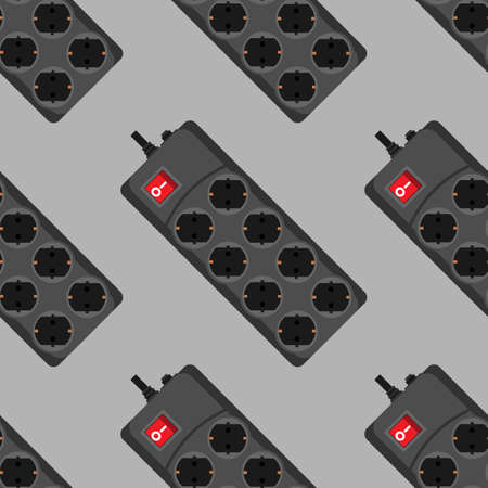 hardware configuration: Seamless pattern network filter icons.