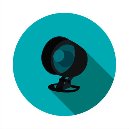 crime prevention: Vector image of security alarm