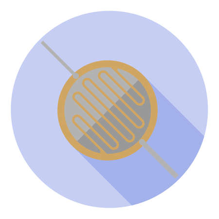 Vector image of a photoconductor