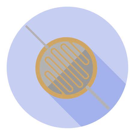 Vector afbeelding van een fotogeleider