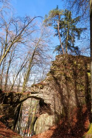 Torfelsen close to Beilngries, Germany