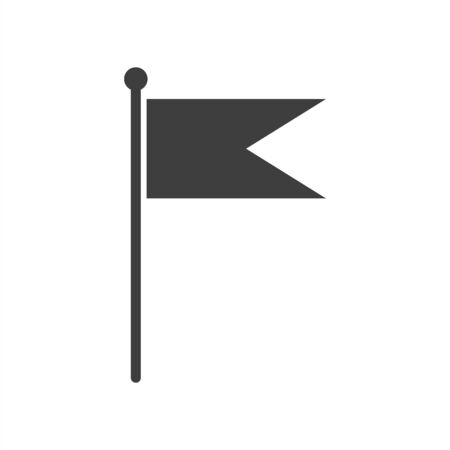 flag icon on a white background.