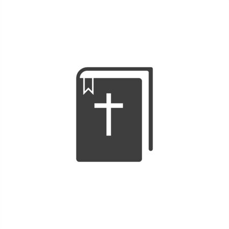 bible icon on a white background. EPS10