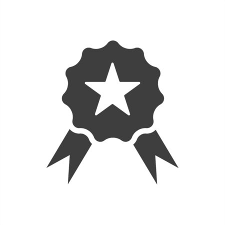 first place icon on a white background, medal, award. EPS10