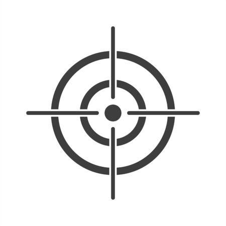 target icon on a white background