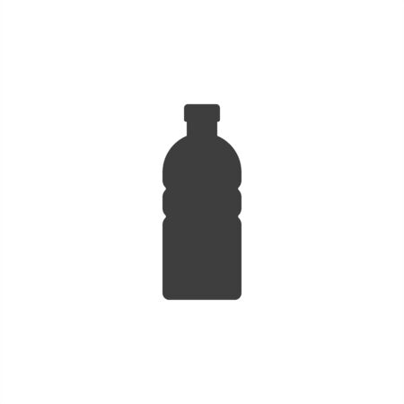 water bottle icon on a white background. EPS10