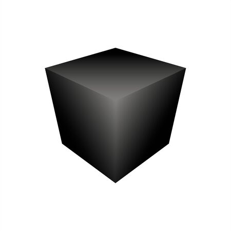 cube icon vector on white background. EPS10