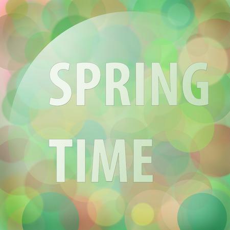 colores calidos: Fondo del tiempo de resorte de la falta de definici�n en colores c�lidos