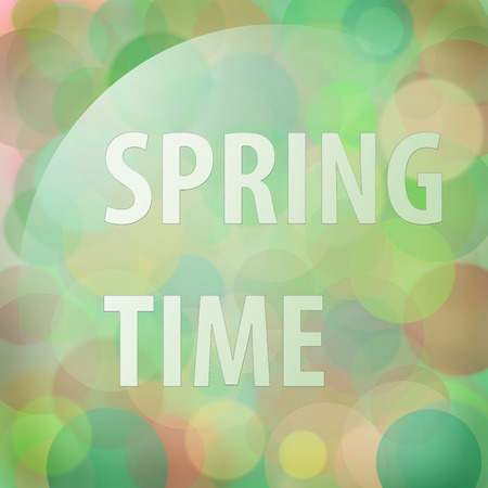 colores calidos: Spring time blur background in warm colors Foto de archivo