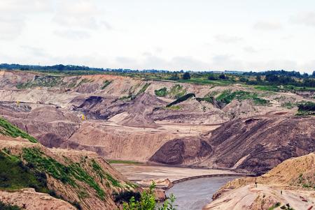 quarries: Amber quarries in the Kaliningrad region