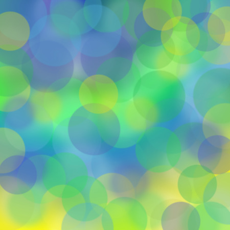 diffuse: green, yellow and blue blur background Stock Photo