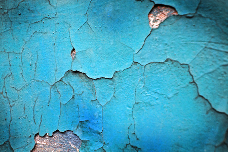 cracked wall: bright turquoise cracked wall texture