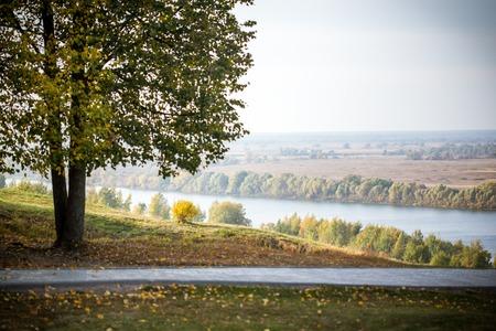 esenin: Oka river in the vicinity of the village of Konstantinovo, Ryazan region