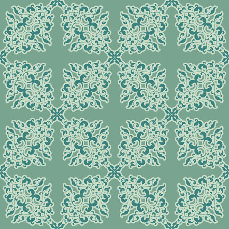 Vintage seamless pattern in classic style in soft retro colors Vector