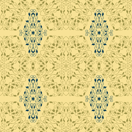 classic style: Vintage seamless pattern in classic style in soft retro colors
