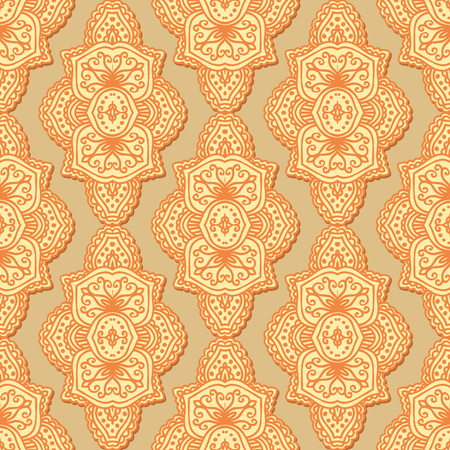 backgrounds texture: Vector flower paisley seamless pattern element. Elegant texture for backgrounds.