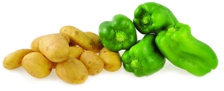 potatoes & peppers