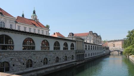 Market hall - Lubiana, Slovenia