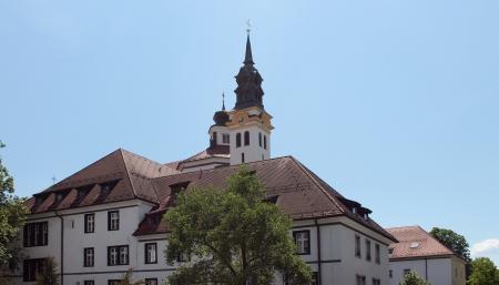 Church - Lubiana, Slovenia Stock Photo