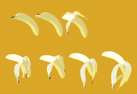 consequence: Banana Illustration