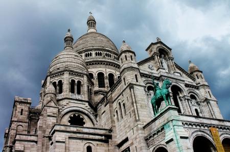 sacre: Sacre Coeur Stock Photo