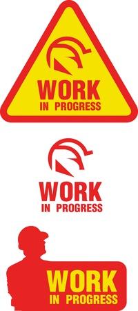 work in progress Stock Vector - 15408546