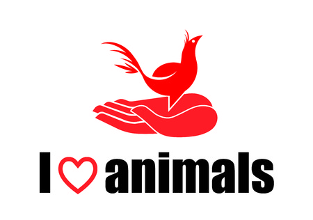 I love animals - bird