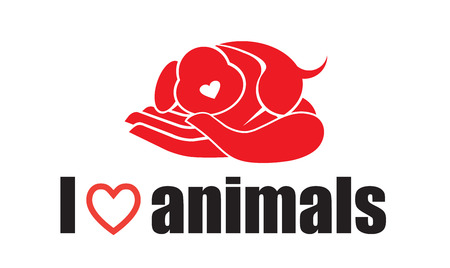 I love animals - dog