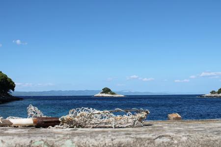 Magical island Stock Photo